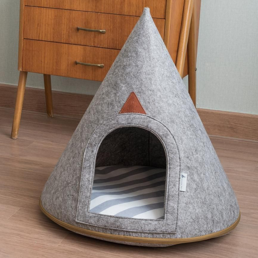Pet Cave Lucy Medium Dog Bed Hooded Dog Bed Dog Cave