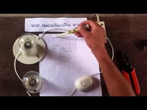 Circuito Electrico Simple Como Hacerlo : Como se realiza un circuito electrico simple youtube maqueta