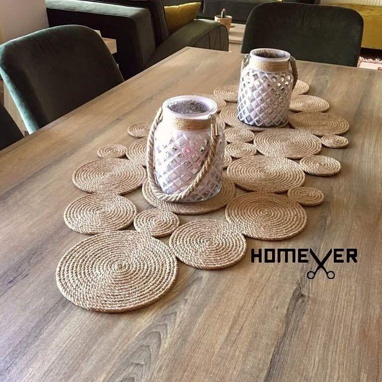Farmhouse Table Runner, Tablecloth, Rustic Home Decor