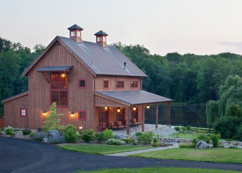 Barn Homes On Pinterest Barndominium Pole Barn Houses