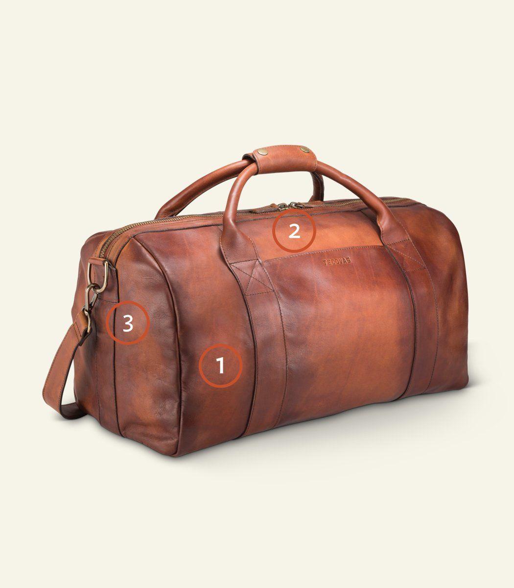 Weekender Duffle - A 100% Handmade Leather Bag   Tecovas   Leather ... 77315550b0