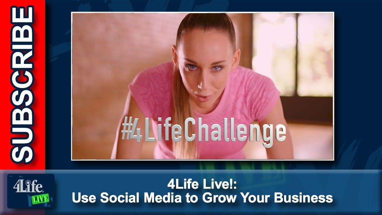 4Life Live! Use Social Media to Grow Your Business-Published on Jan 19, 2017