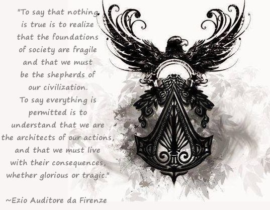 assassin's creed unity quotes - Google Search | Assassins ...