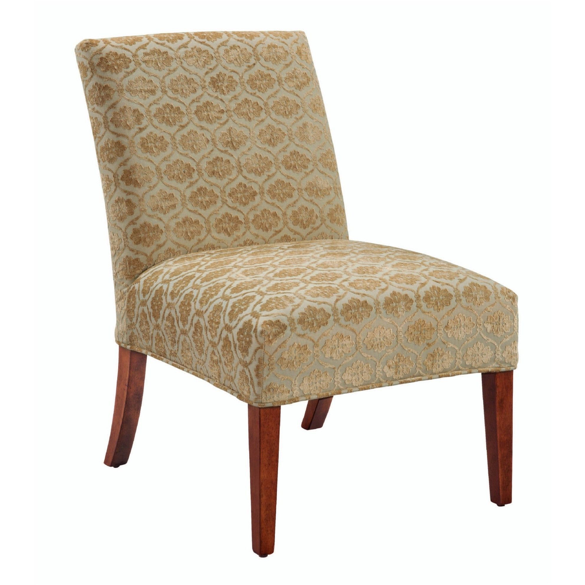 Lovecup Damask Slipper Chair cover SALE ITEM | Slipcovers ...