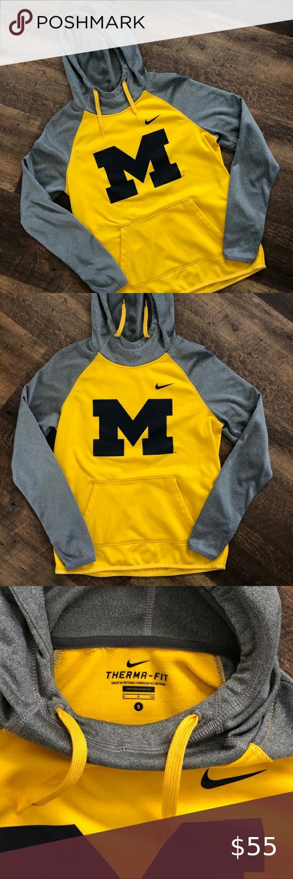 University Of Michigan Nike Sweatshirt Nike Sweatshirts Sweatshirts Sweatshirts Hoodie [ 1740 x 580 Pixel ]