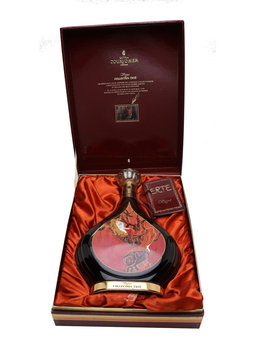 Courvoisier Erte Cognac No 1 Vigne The Whisky Exchange Cognac Best Sparkling Wine Cigars And Whiskey