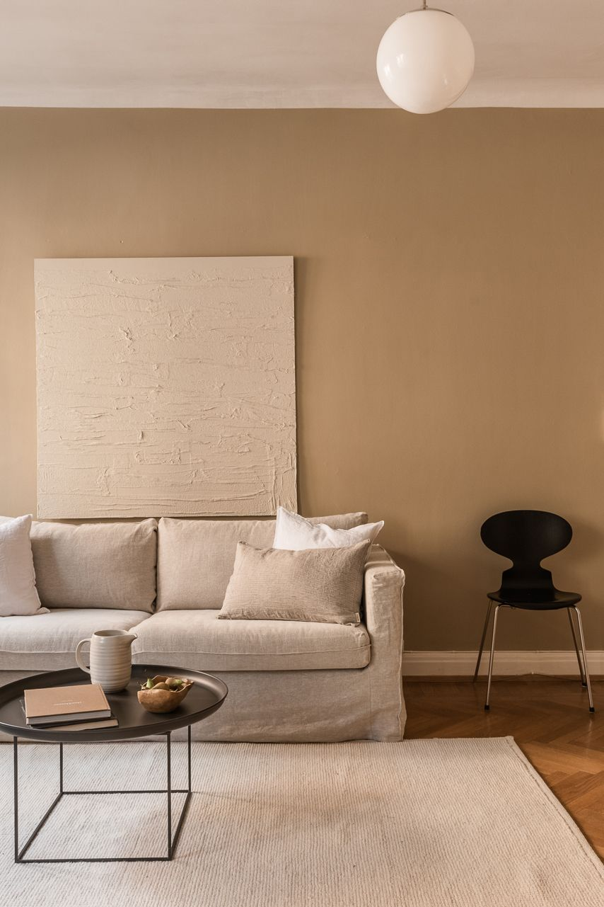 Fifty Shades Of Beige In This Gorgeous Apartment Inredning