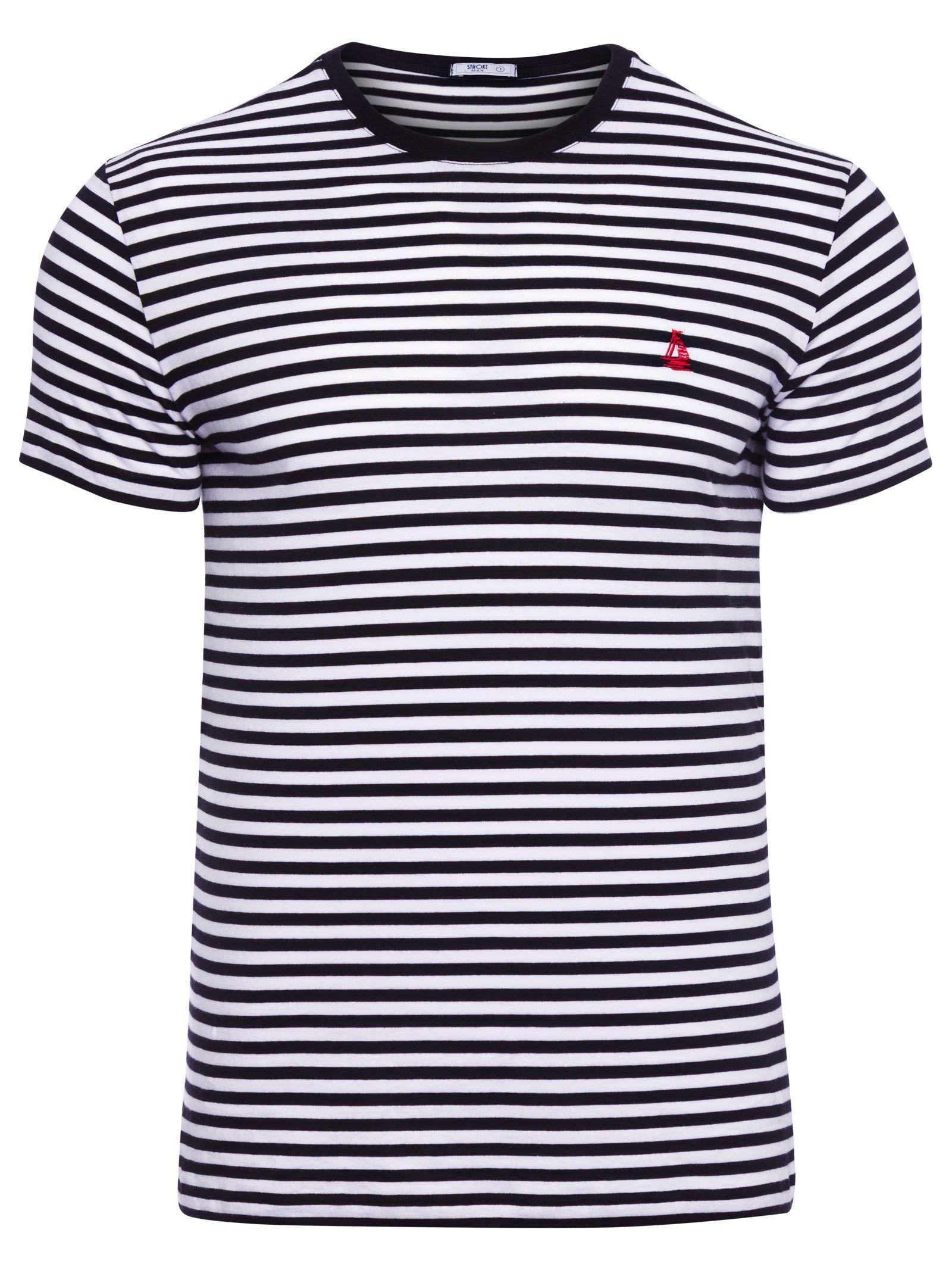 Camiseta Masculina - Stroke Man - Preto e Branco - Shop2gether ... 459b942028
