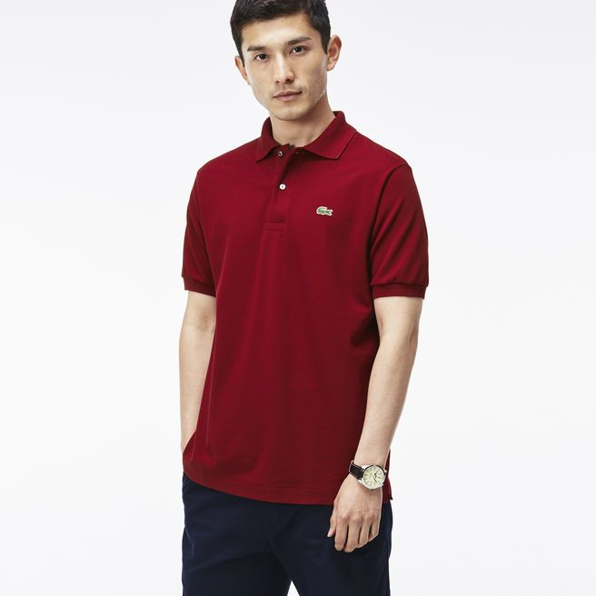 Lacoste - L.12.12 polo Bordeaux