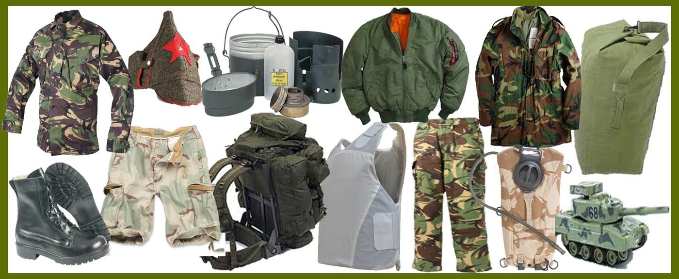 Army clothing sales online store
