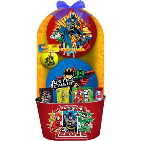 Justice league easter basket 7 pc easter pinterest justice league easter basket 7 pc negle Choice Image