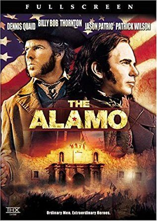 This would be a good movie to play during class. Students can follow along with worksheets, or certain clips can be played during class to help visualize the Alamo.