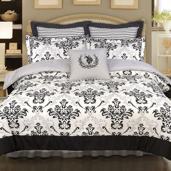 Fleur De Lis Bedding Set Queen Size Comforter Sets Home