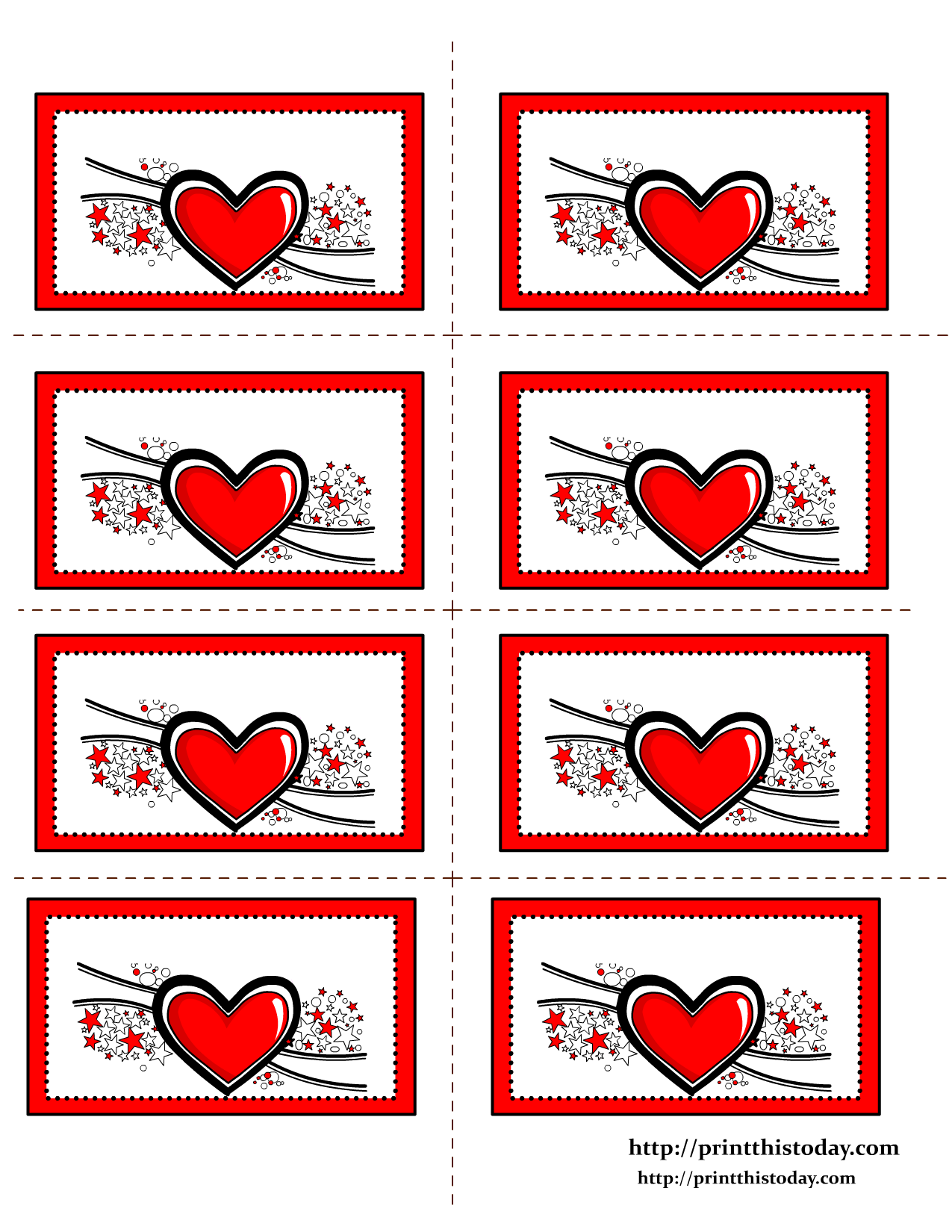 Free Printable Hearts Labels Labels Printables Free Heart Printable Valentines Printables Free