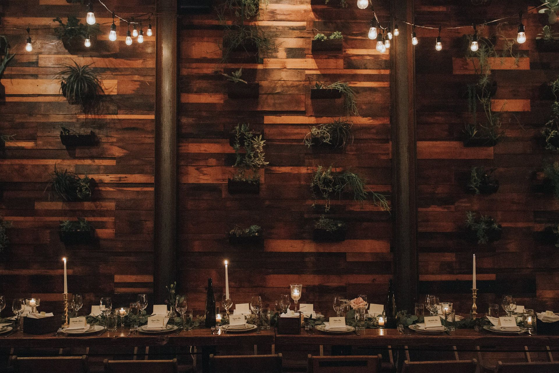 Weddings at Brooklyn Winery after sundown are extra