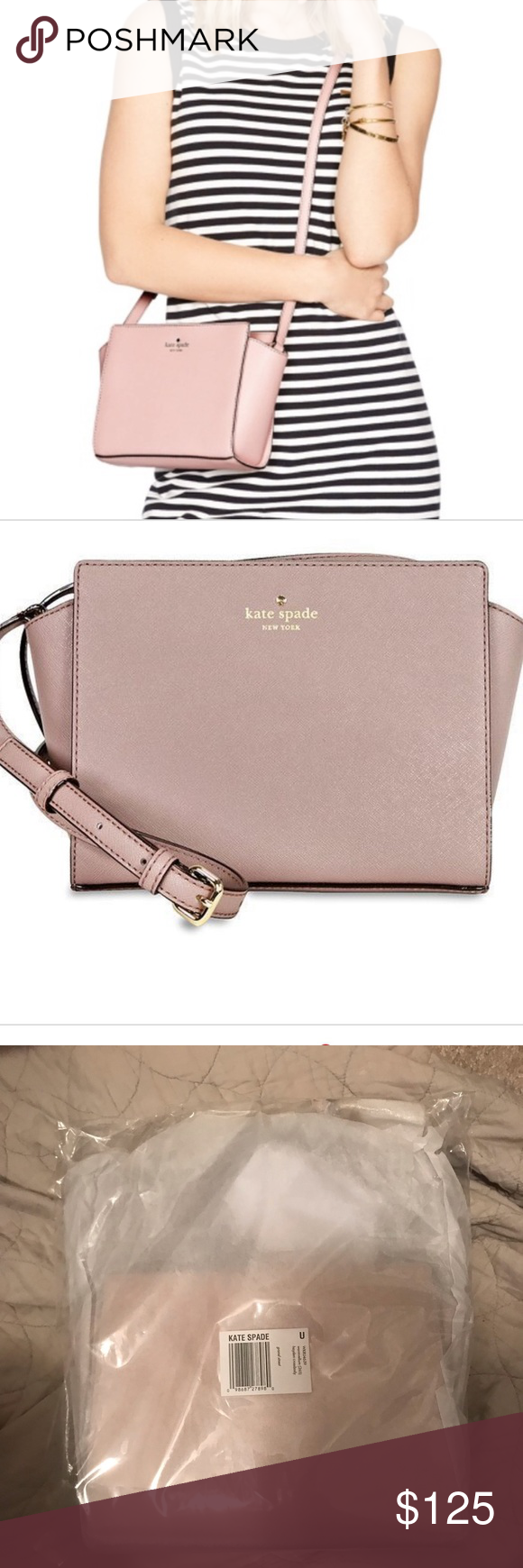 5914484da Kate Spade Crossbody GRAND STREET HAYDEN CROSSBODY, WARM VELLUM Comes in  original packaging, never
