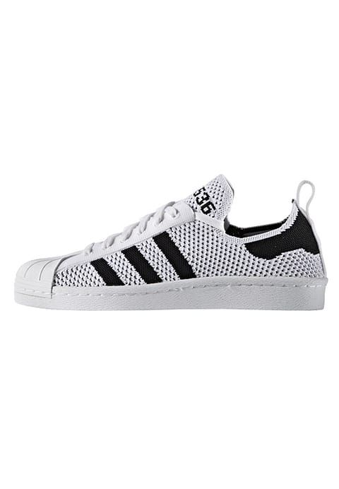 the latest 54825 f8f0e adidas Originals SUPERSTAR 80S PRIMEKNIT - Trainers - white ...