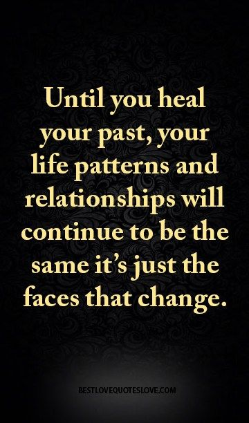 How to heal from past relationships