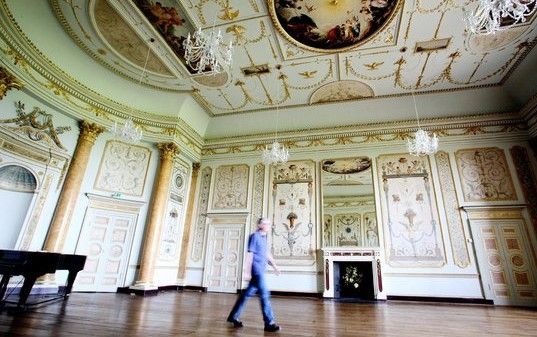 Stowe House, State music room