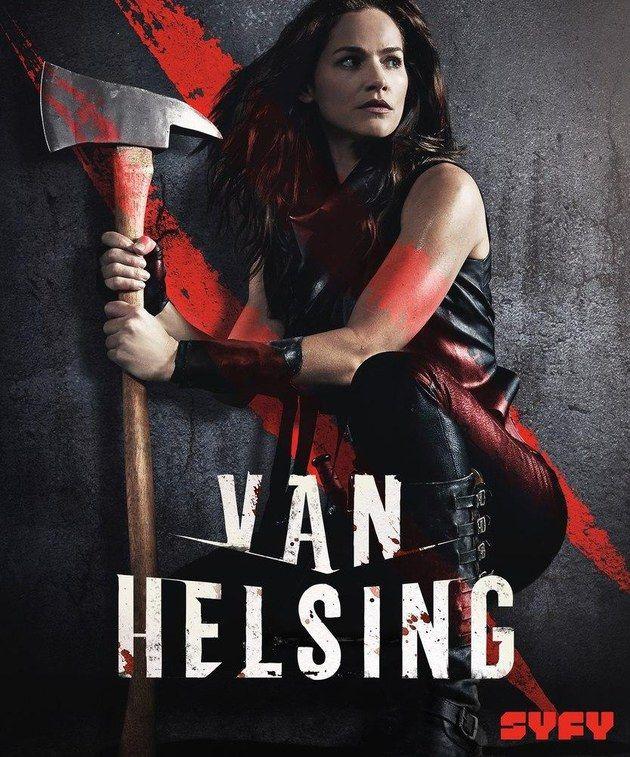 Van Helsing 2th Season Temporada 2 Cazador De Vampiros Divergente Pelicula