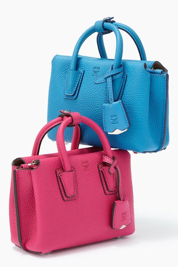 These mini #MCM handbags make a big impression #SaksStyle