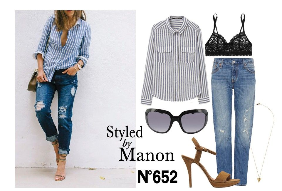 Styled by Manon #652 Levi's jeans | Striped blouse, Levis