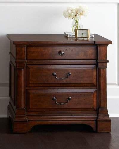 Ryland three drawer nightstand in 2019 decoraci n - Mesitas de noche diseno modernas ...