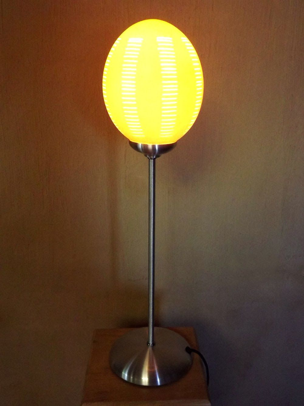 Ostrich eggshell table l& by Phases Africa & Ostrich eggshell table lamp by Phases Africa | African Furniture ... azcodes.com