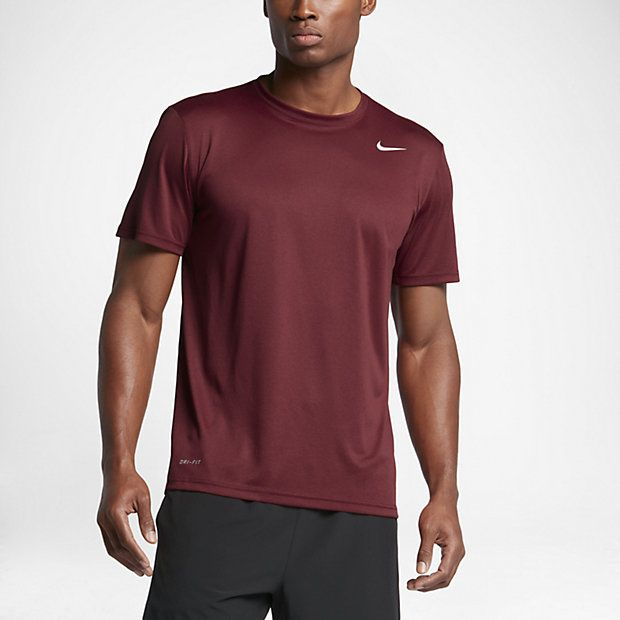 Nike Legend 2.0 Men's Training T-Shirts Team Red/Black/Matte Silver