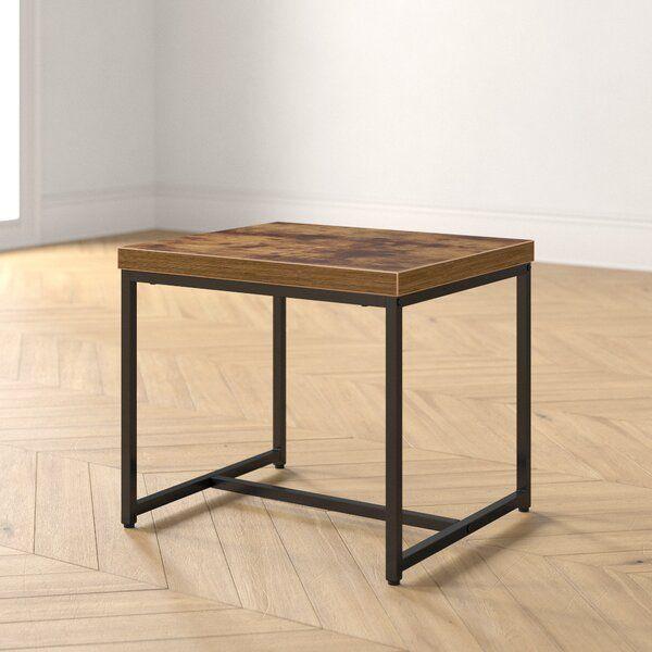 Francesca Sled End Table In 2020 End Tables Modern Console Tables Mid Century Modern Console Table
