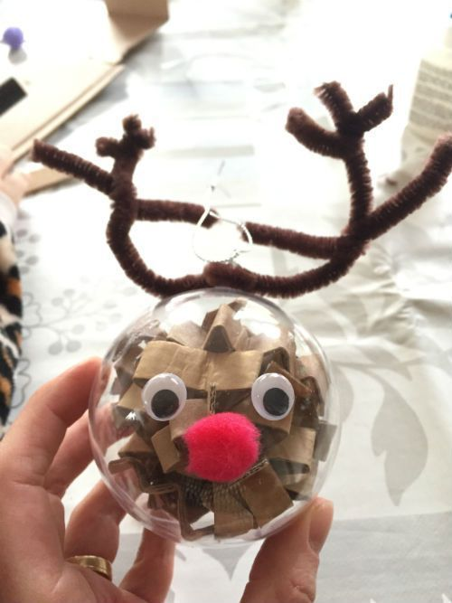 Fijne kerstmis allemaal – DIY Versier je eigen kerstbal #rendierknutselen