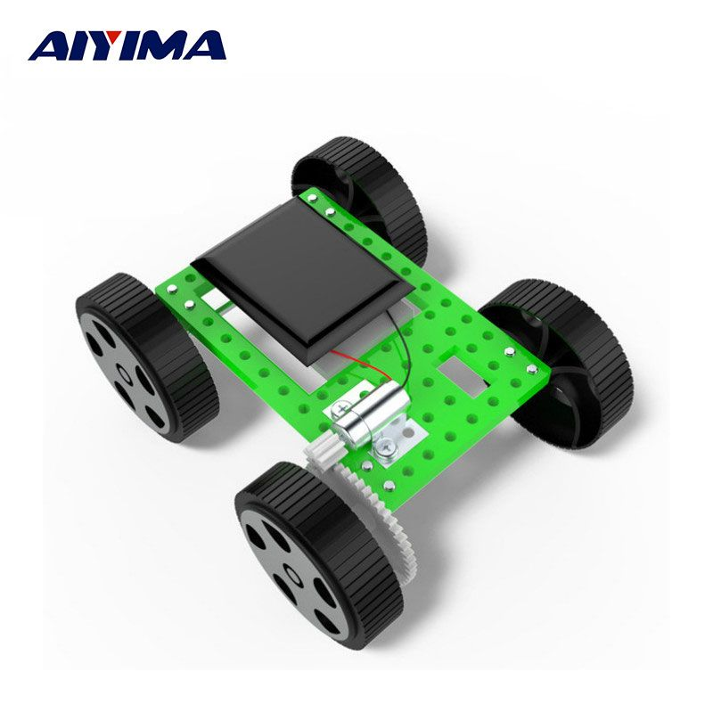 Scientific Experiment Model Small Production Toys DIY School Mini Solar Car Creative Small Invention