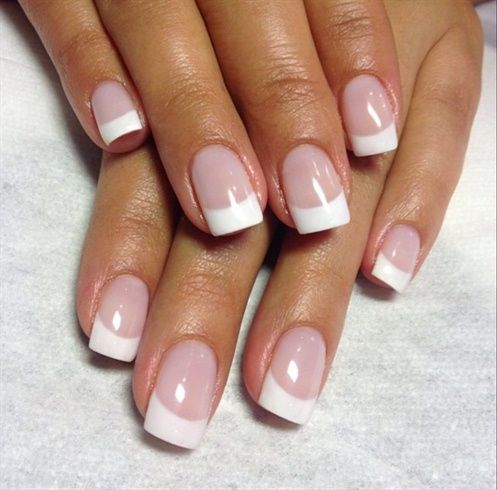French Manicure By Karoph Nail Art Gallery Nailartgallery Nailsmag Com By Nails Magazine Www N French Tip Acrylic Nails Gel Nails French French Tip Gel Nails