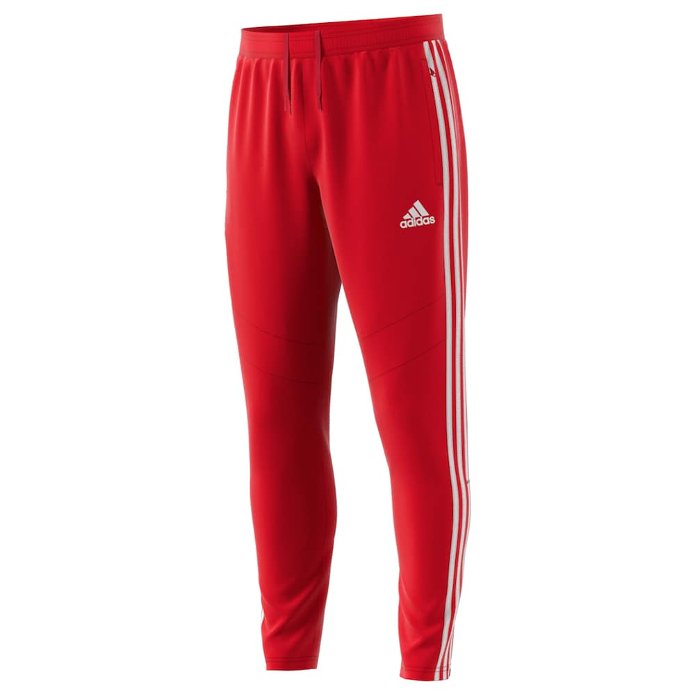 adidas jogging red