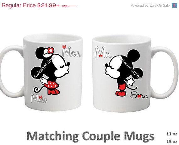 Personnalisé Mickey Mouse et Minnie Disney Word Art Anniversaire Souvenir des noms
