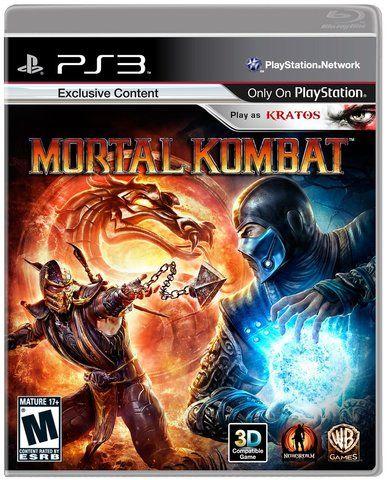 Mortal Kombat 9 Ps3 Mortal Kombat Xbox Mortal Kombat Xbox 360