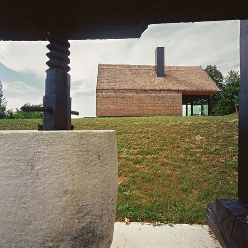 PROARH Architects. Croatia. Contemporary Interpretation of a Traditional Zagorje Cottage. Texture, thatch, form, vernacular.