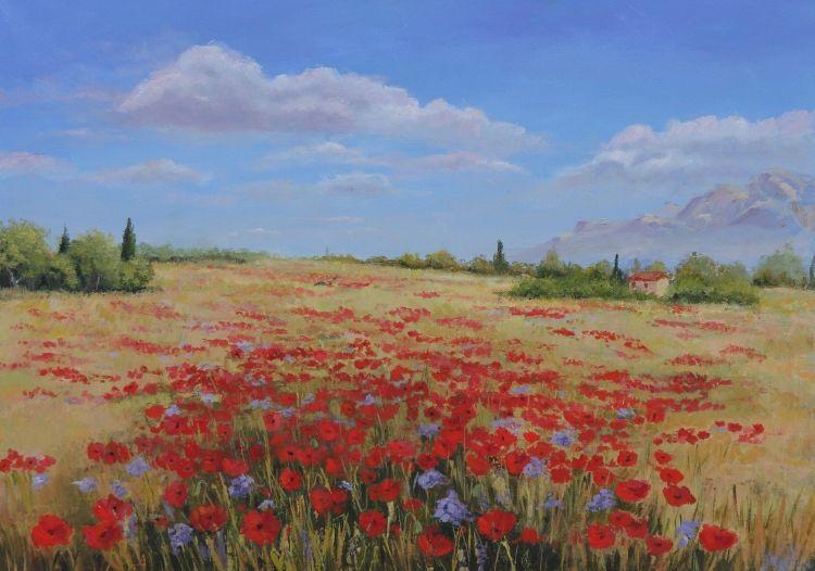 Fleurs Peinture a L'Huile - Bing Imagens