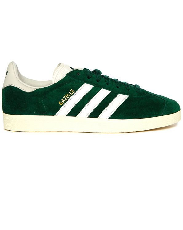 Adidas Originals Gazelle suede sneakers Forest Green | Luisaviaroma
