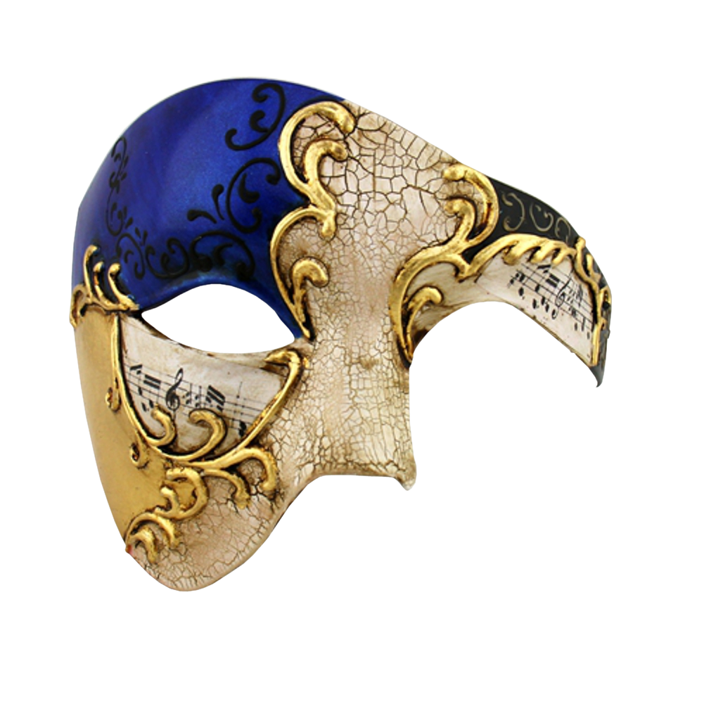 Gold Series Phantom Of The Opera Half Face Masquerade Mask Mens Masquerade Mask Phantom Mask Opera Mask