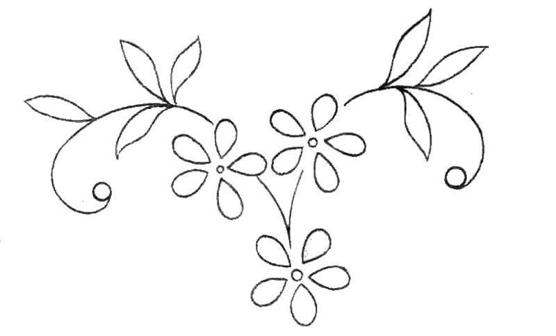 Allez je vous ai encore vite numérisé quelques motifs de fleurs avant le grand boum!! , j'essayerai de vous en mettre encore au moins une...