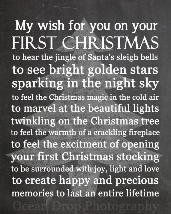 Pin By Morgan Mayers On Inspirational Quotes Babies First Christmas First Christmas Baby Christmas Gifts