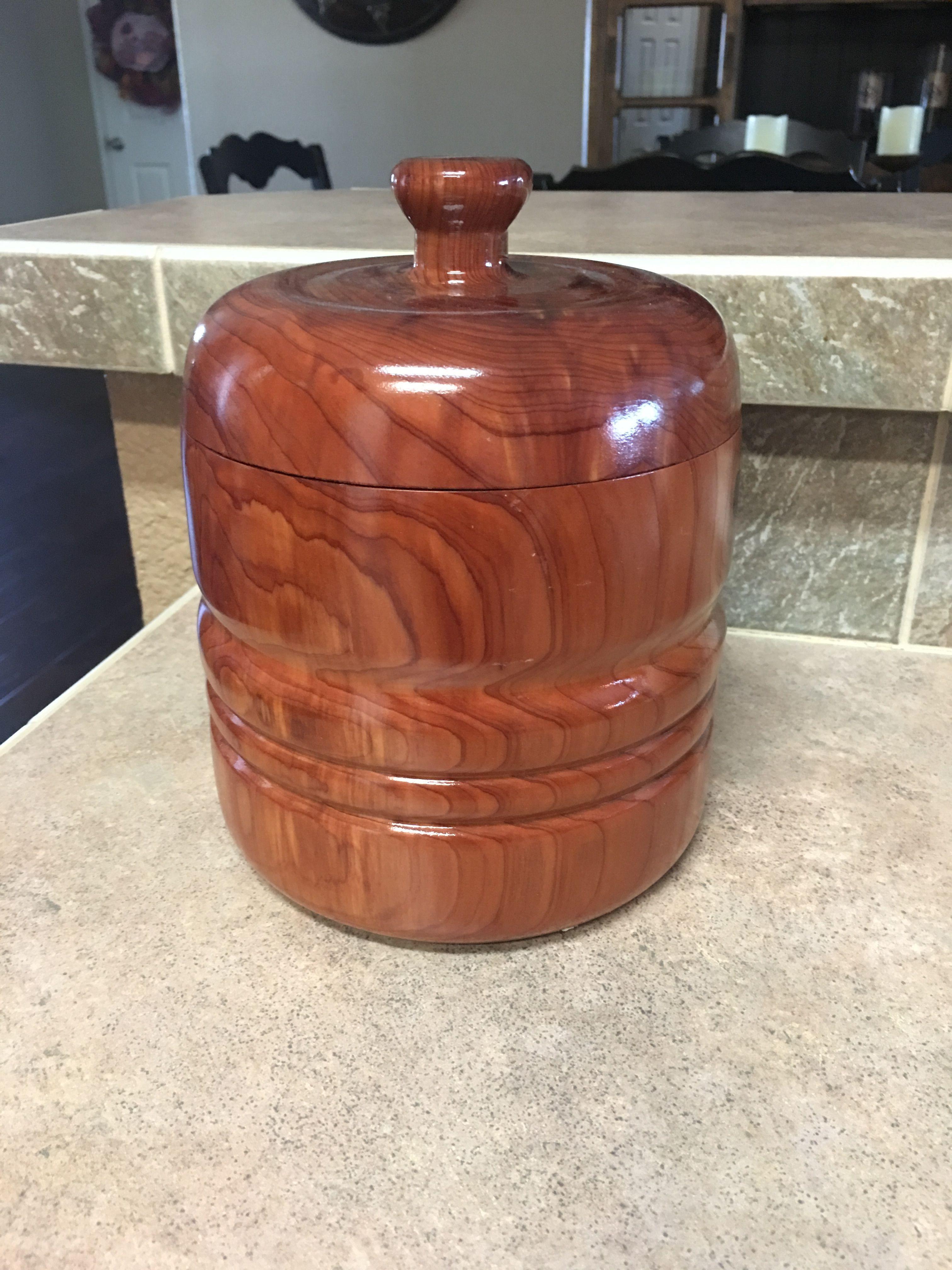 Cedar canister