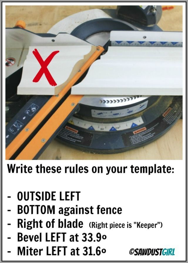 how to cut crown molding using easy templates moldings crown and