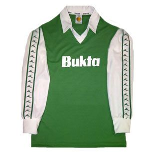 3c1167c70 Hibernian 1977-1980 Bukta Home Retro Shirt