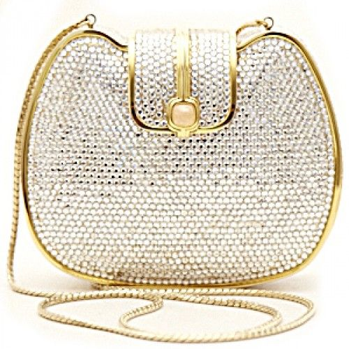 Sophisticated Style| Serafini Amelia| Judith Leiber ● Crystal  Evening Bag.