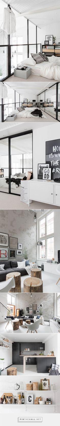 casa preta e branca
