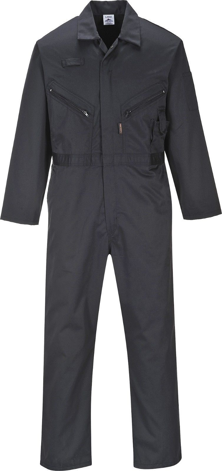 portwest zip coverall overall protective work mechanic on cheap insulated coveralls for men id=51837