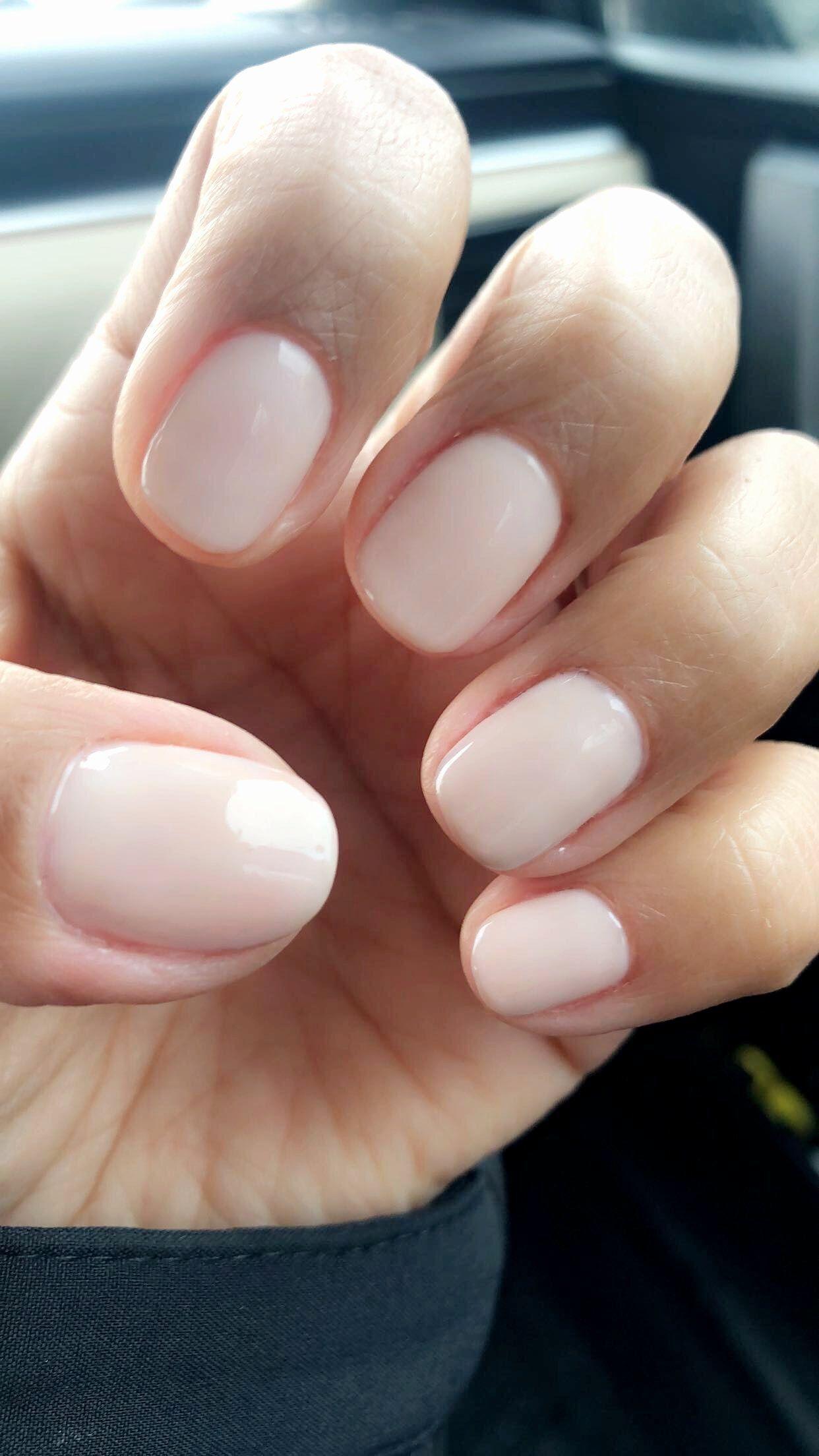 Natural Gel Nail Polish New Natural Nails Opi Gel Polish Funny Bunny Bunny Funny Gel Nail Nails N In 2020 White Gel Nails Natural Gel Nails Best White Nail Polish