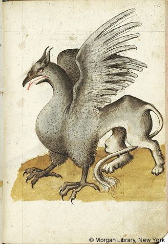 Hugo Von Trimberg Ca 1230 Ca 1313 Der Renner Austria Probably In Tyrol Last Quarter Of The 15th Avec Images Chimere Mythologie Creature Fantastique Symbole Animaux